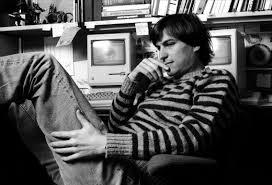Steve Jobs sitting